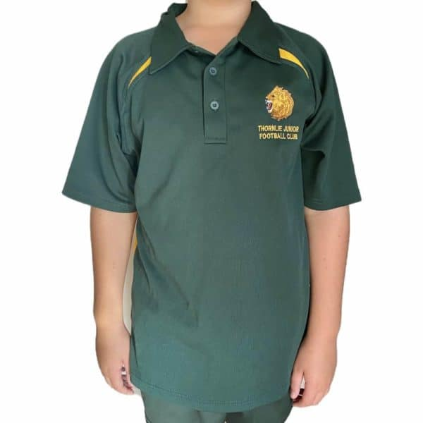 Thornlie Junior Football Club Green Club Polo